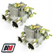 Weber 40 DCOE 151 Twin Carburettors Genuine Pair